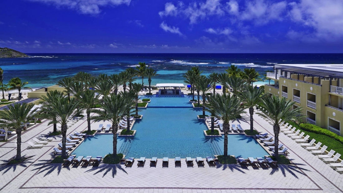 The Westin Dawn Beach Resort Spa St Maarten Infinity Pool